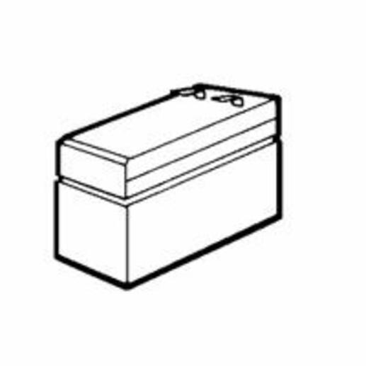 Batterie au plomb 12V 12Ah pour centralisateur de mise en sécurité incendie typeB référence 040605