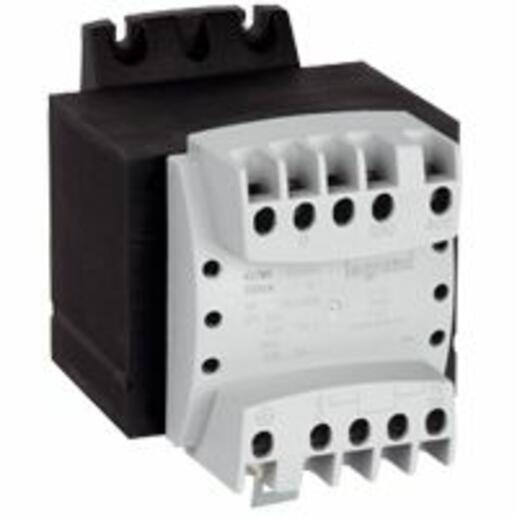 Transformateur de séparation des circuits primaire 230V à 400V et secondaire 115V~ à 230V~ - 100VA
