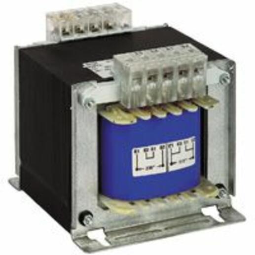 Transformateur de séparation des circuits primaire 230V à 400V et secondaire 115V~ à 230V~ - 630VA