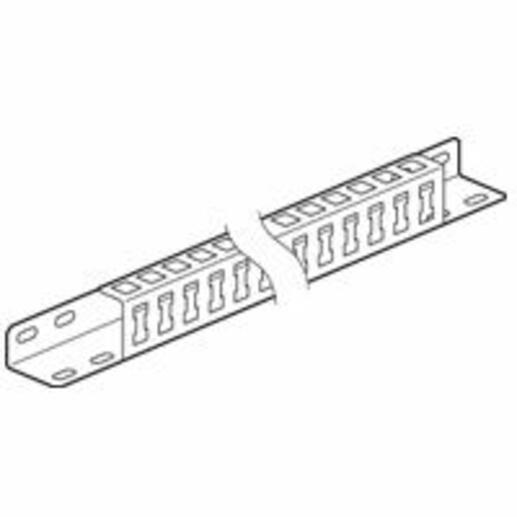 Profilés pour bridage des câbles pour armoire Altis largeur 800mm ou 1600mm