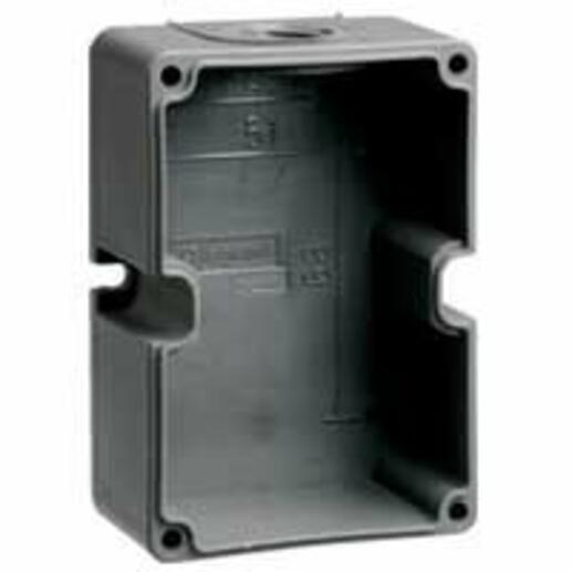 Boîtier réversible Hypra pour prise 2P+T IP44 - 16A - plastique