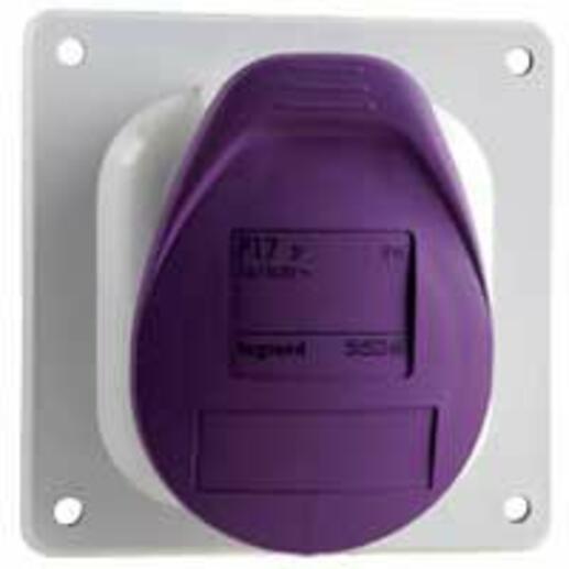 Prise à entraxes unifiés fixe P17 IP44 32A - 20V~ à 25V~ - 2P