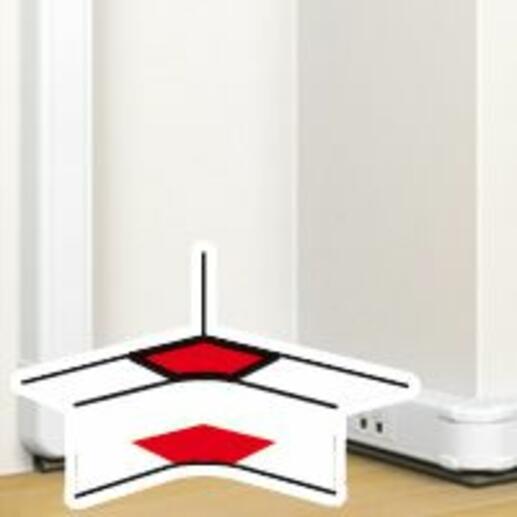 Angle intérieur pour goulotte à clippage direct Mosaic 50x105mm - blanc