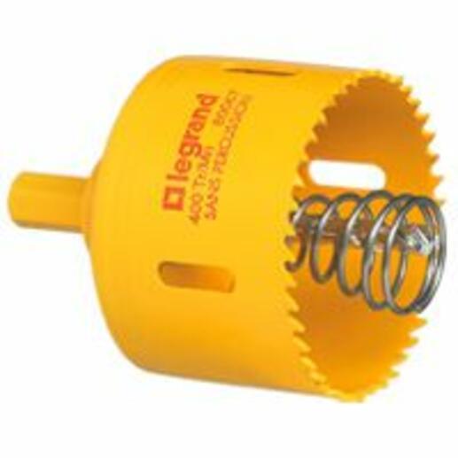 Scie cloche Ø85mm pour boîte Batibox prise 20A ou 32A cloisons sèches