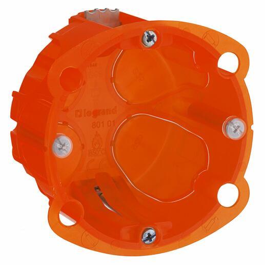 Boîte à encastrer Batibox multimatériaux - 1 poste profondeur 40mm