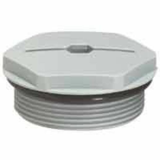 Bouchon pour écrou ISO20 - gris RAL7001