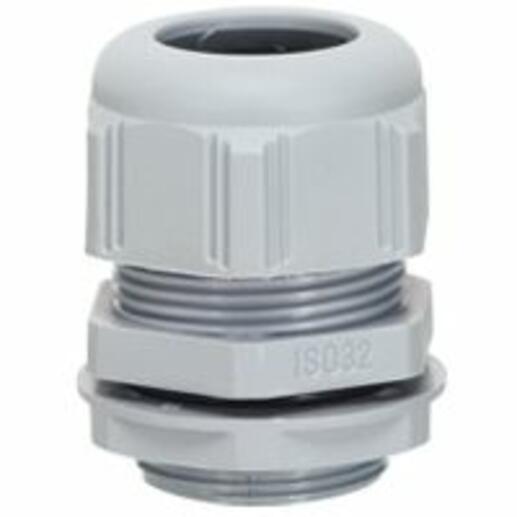 Presse-étoupe à entrées multiples plastique IP66 ISO40 RAL7001