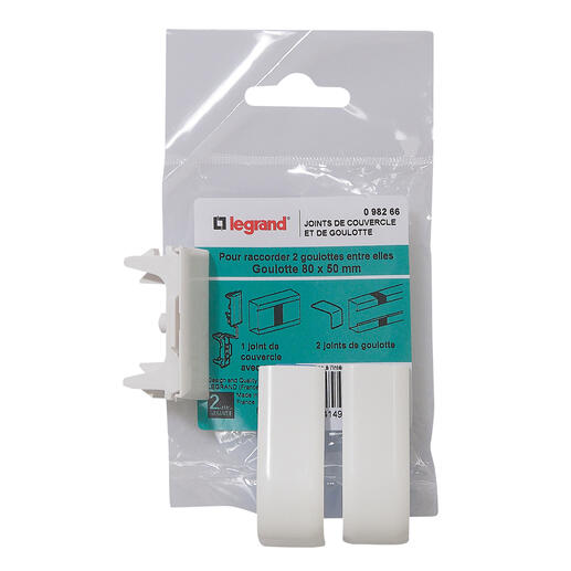 Joint de couvercle et de goulotte - pour goulotte section 80x50mm