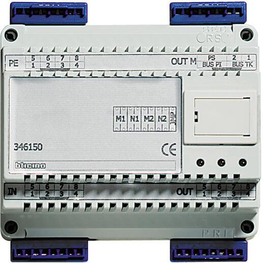 Interface numérique pour installation mixte 8 fils et BUS 2 fils