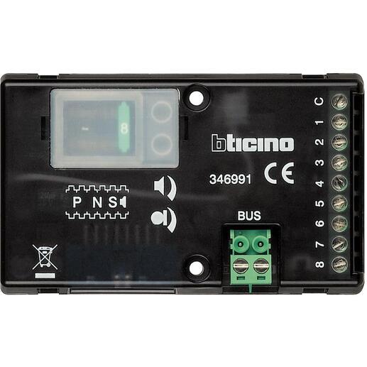 Micro haut-parleur universel 8 appels pour platines Série 100 , Série 200 ou Série 300 audio