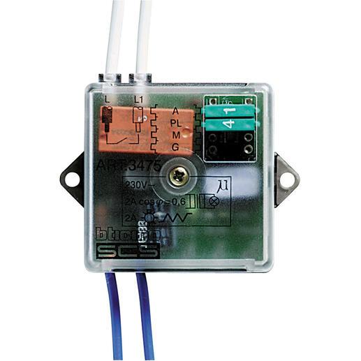 Actionneur commande 1 relais MyHOME BUS - format basic