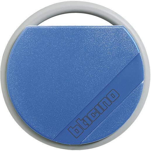 Badge de proximité résidents 13,56MHz couleur bleu