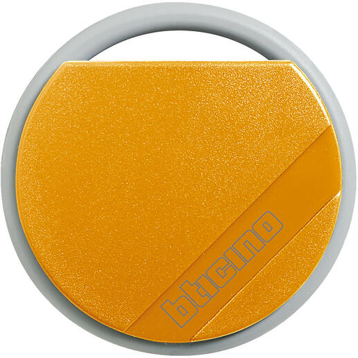 Badge de proximité résidents 13,56MHz couleur orange