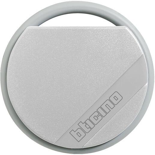 Badge de proximité résidents 13,56MHz couleur gris