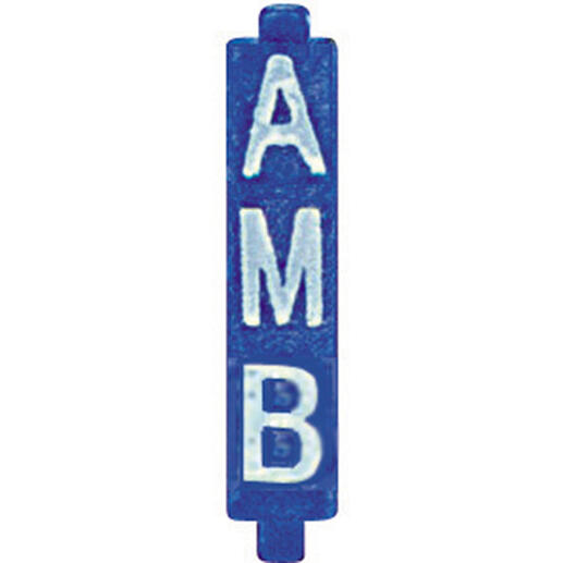 Cavalier de configuration pour système BUS avec marquage AMB