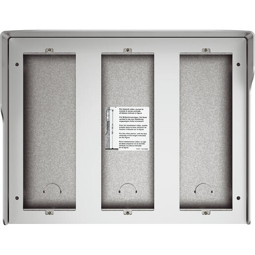 Boîtier mural Sfera New 9 modules Allmetal