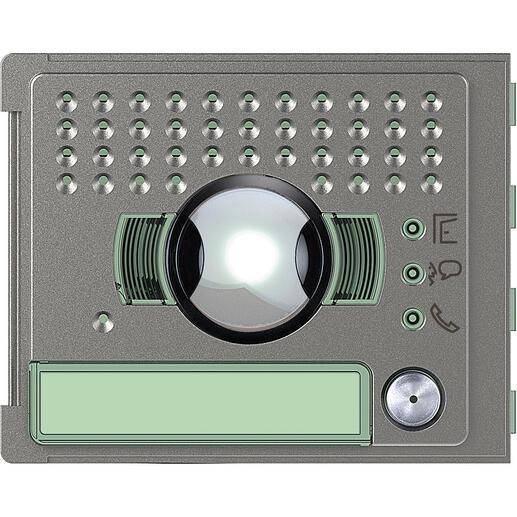 Façade Sfera Robur pour module électronique audio et vidéo 1 appel grand angle