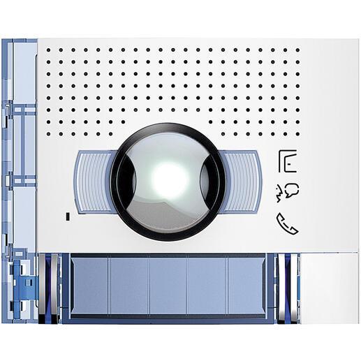 Façade Sfera New pour module électronique audio et vidéo 2 appels grand angle Allwhite