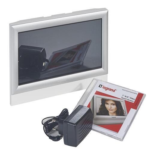 Écran tactile visiophone pour poste intérieur supplémentaire 10pouces