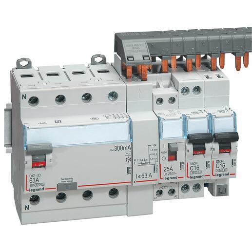 Peigne d'alimentation tétrapolaire tête de groupe HX³ horizontal optimisé - longueur 12 modules