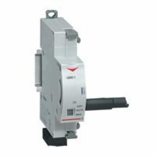 Commande motorisée réenclenchement pour un produit DX³ 1 module par pôle - 24V~ à 48V~ et 24V= à 48V= - 2 modules