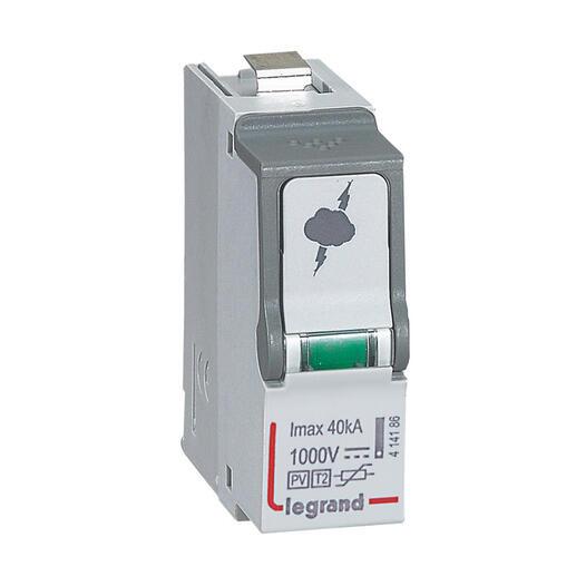 Cassette de rechange débrochable pour parafoudre référence 414156
