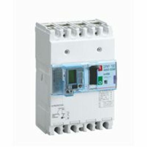 Disjoncteur magnétothermique différentiel DPX³160 pouvoir de coupure 16kA 400V~ - 4P - 40A