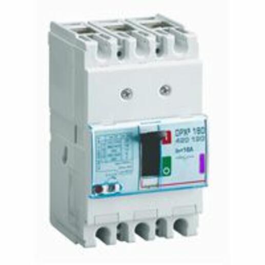 Disjoncteur magnétothermique DPX³160 pouvoir de coupure 50kA 400V~ - 3P - 16A