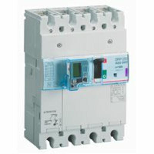 Disjoncteur magnétothermique différentiel DPX³250 pouvoir de coupure 50kA 400V~ - 4P - 160A