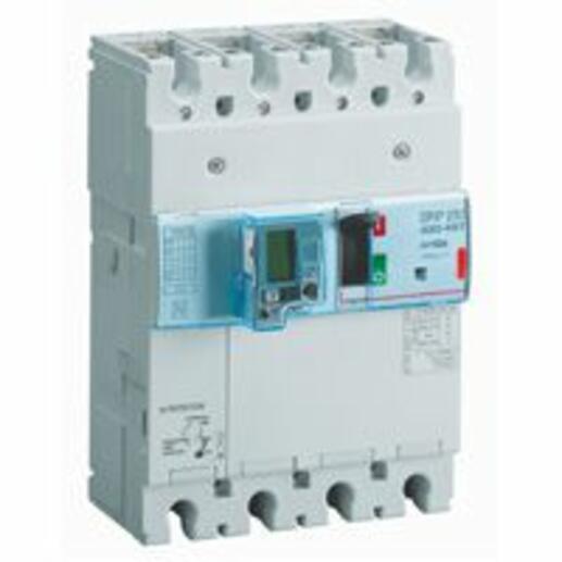 Disjoncteur électronique différentiel avec unité de mesure DPX³250 pouvoir de coupure 36kA 400V~ - 4P - 160A