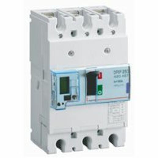 Disjoncteur électronique avec unité de mesure DPX³250 pouvoir de coupure 50kA 400V~ - 3P - 160A