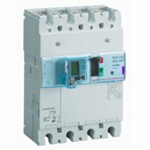 Disjoncteur électronique différentiel avec unité de mesure DPX³250 pouvoir de coupure 50kA 400V~ - 4P - 160A