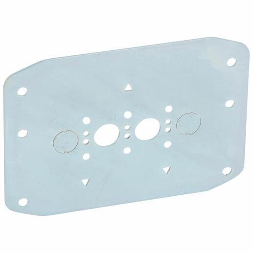 Kit d'installation pour prises arrières en enveloppe non XL³ pour DPX³160 magnétothermique