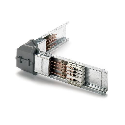 Coude horizontal vers la droite pour mini canalisation de moyenne puissance MS - typeMS100 - IP55
