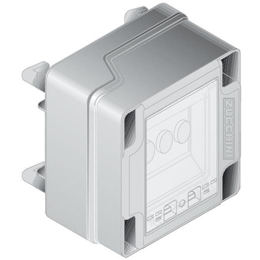 Boîte de dérivation pour mini canalisation MS - avec porte-fusible D02 - 32A