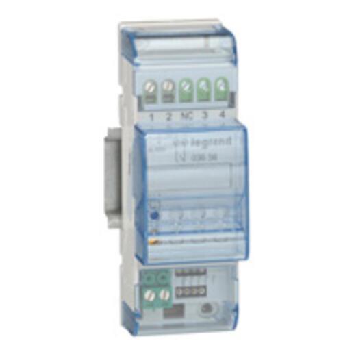 Actionneur variateur modulaire MyHOME_Up ballast ou driver LEDs 460W maximum - 2 modules