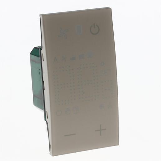 Thermostat Living Now avec afficheur pour contrôle sur 1 zone MyHOME_Up 2 modules - sable