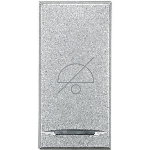 Manette Axolute avec symbole Ne Pas Déranger 1 module - alu