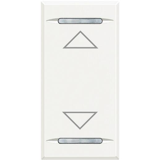 Manette Axolute symbole montée et descente 1 module - white