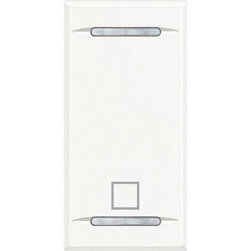 Manette MyHOME BUS Axolute symbole STOP 1 module - white