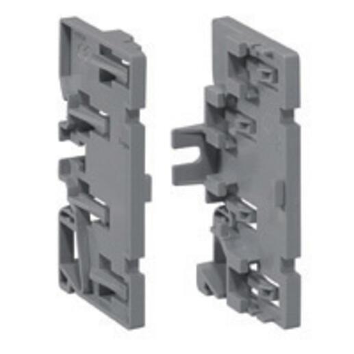 Support répartiteur permet d'associer 4 borniers IP2X de même dimension
