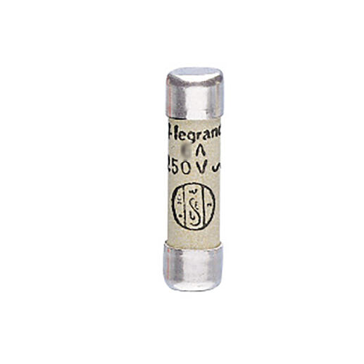 Cartouche cylindrique domestique 6,3x23mm sans voyant - 4A