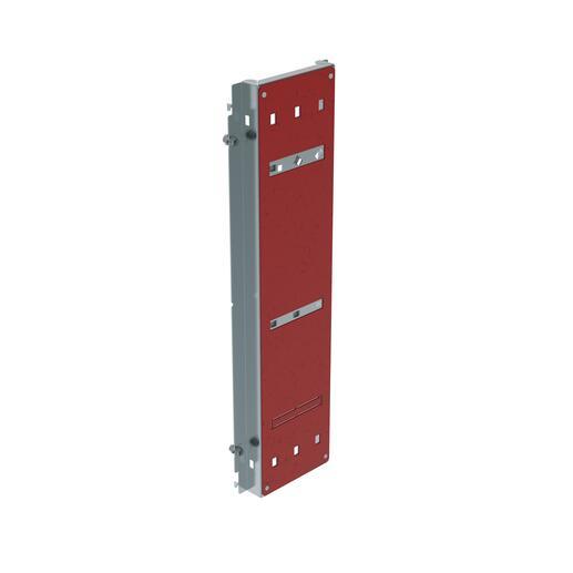 Platine pour branchement tarif jaune pour DPX³630 calibre 400A montage vertical en gaine à câbles XL³400