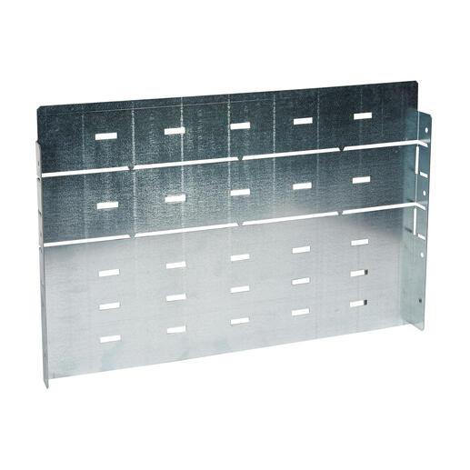 Kit de séparation en L pour jeu de barres horizontal 4000A pour armoire profondeur 725mm pour formes XL³