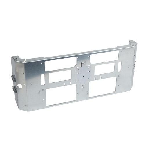 Dispositif de fixation réglable pour 2 DPX³ fixe en inverseur de source en position verticale dans XL³4000 - 24 modules