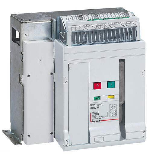 Interrupteur ouvert DMX³-I1600 fixe 4P - 1250A