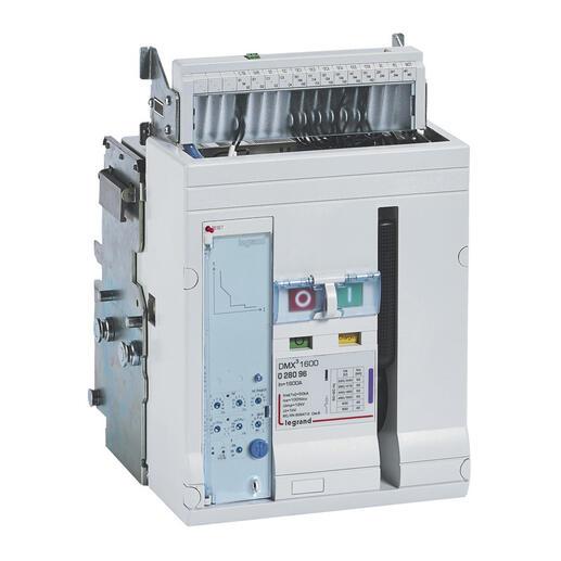 Disjoncteur ouvert complet débrochable DMX³1600 pouvoir de coupure 42kA 415V~ - 3P - 1250A