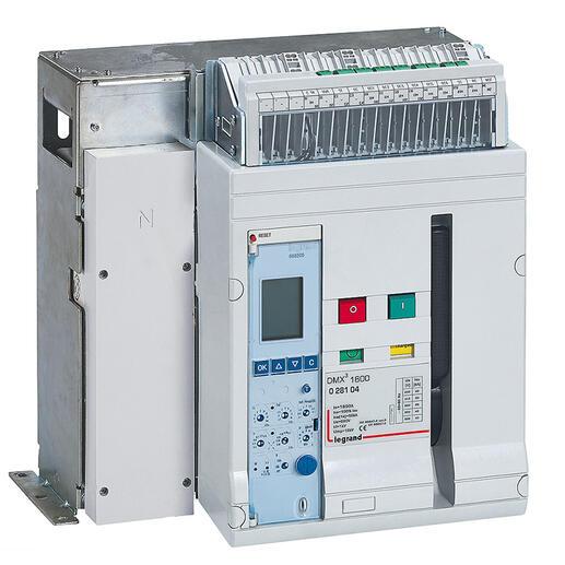 Disjoncteur ouvert complet fixe DMX³1600 pouvoir de coupure 50kA 415V~ - 4P - 1600A