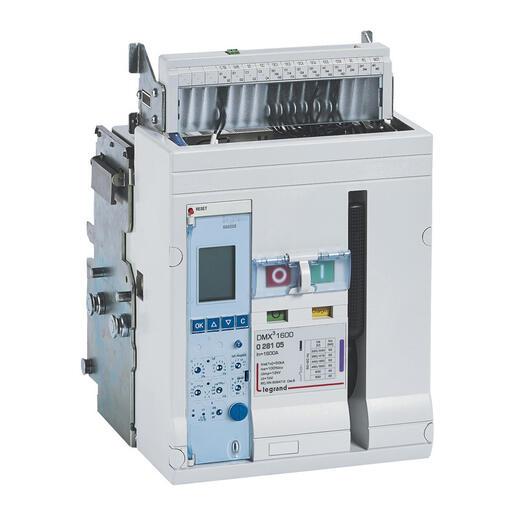 Disjoncteur ouvert complet débrochable DMX³1600 pouvoir de coupure 50kA 415V~ - 3P - 1000A