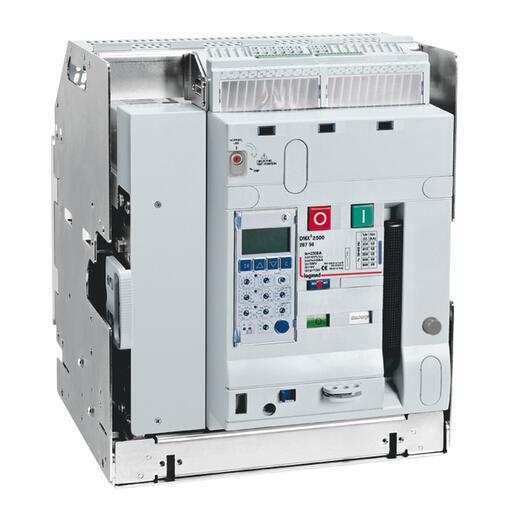 Disjoncteur ouvert débrochable DMX³2500 pouvoir de coupure 65kA taille 1 - 4P 800A